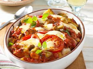 Tomaten-Brot-Auflauf Rezept