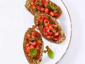Tomaten-Bruschetta (Trennkost, Kohlenhydrate) Rezept