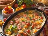 Tomaten-Fritata Rezept