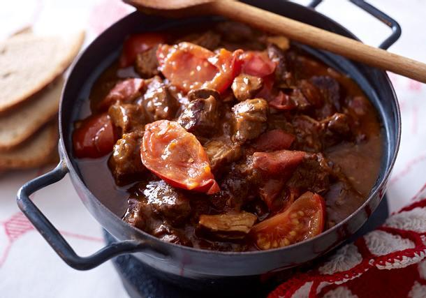 Tomaten-Gulasch Rezept