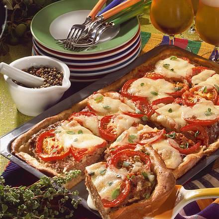 Tomaten-Hackkuchen Rezept