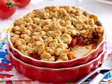 Tomaten-Kapern-Parmesan-Crumble Rezept