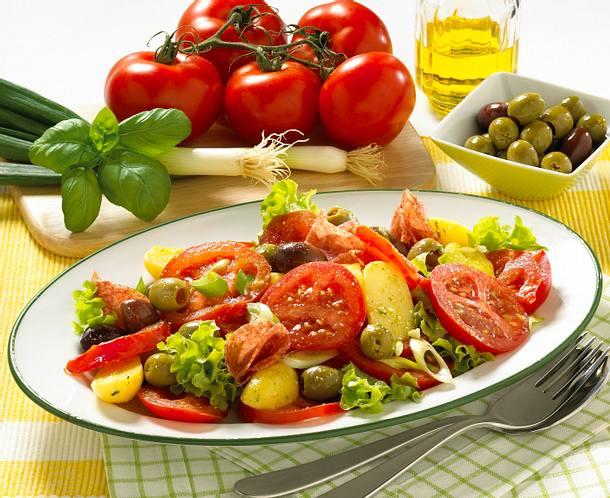 Tomaten-Kartoffel-Salat Rezept