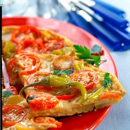Tomaten-Kartoffel-Tortilla Rezept