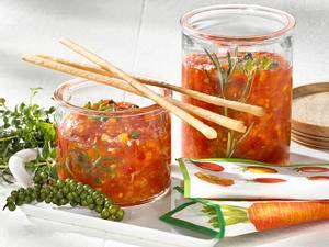 Tomaten-Möhren-Chutney Rezept