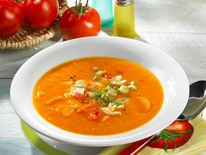 Tomaten-Möhrensuppe Rezept