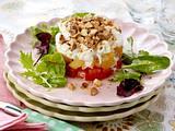 Tomaten-Mozzarella-Aprikosen-Türmchen Rezept