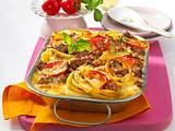 Tomaten-Mozzarella-Auflauf mit Pesto Rezept