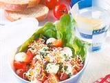 Tomaten-Mozzarella-Salat mit Pesto Rezept