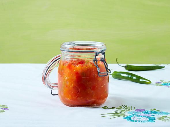 Tomaten-Paprika-Letscho Rezept