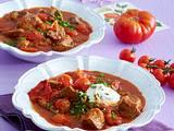 Tomaten-Rindergulasch Rezept