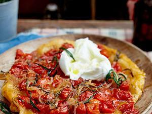 Tomaten-Tarte-Tatin Rezept