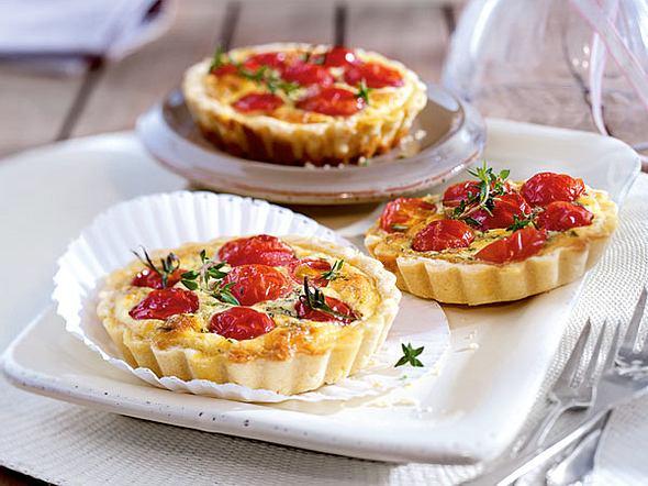 Tomaten-Tarteletts Rezept