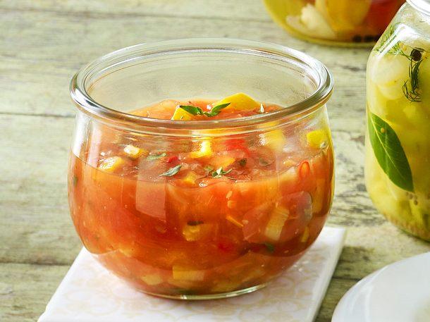 tomaten zucchini chutney rezept lecker. Black Bedroom Furniture Sets. Home Design Ideas