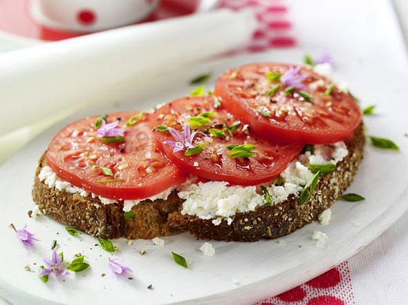 Tomatenbrot mit Ricotta Rezept