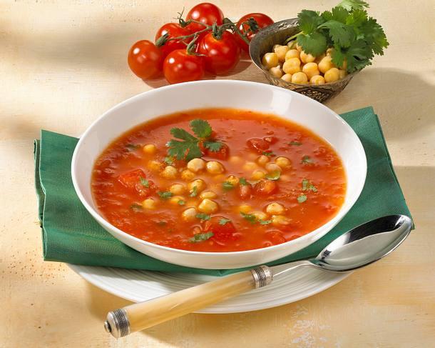 tomatensuppe mit kichererbsen rezept lecker. Black Bedroom Furniture Sets. Home Design Ideas