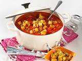 Tomatensuppe mit Speck-Croutons Rezept