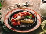 Topfen-Palatschinken mit Erdbeeren Rezept