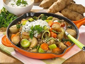 Topinambur-Gemüse-Pfanne Rezept