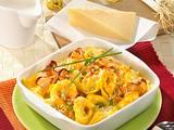 Tortellini-Carbonara-Auflauf Rezept