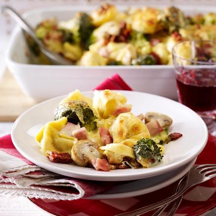 Tortelloni-Auflauf Rezept