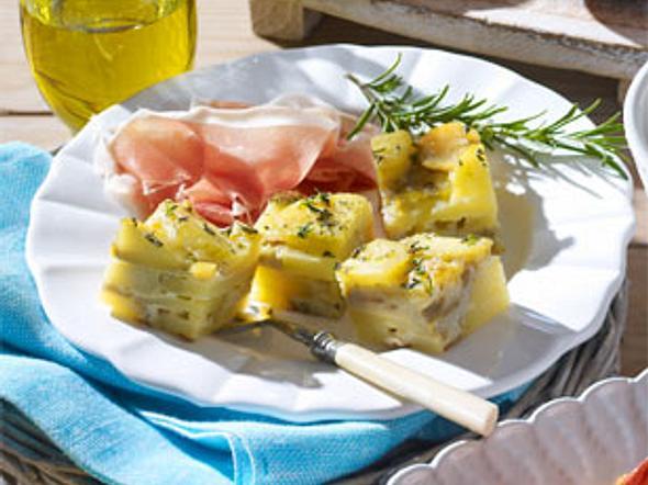 Tortilla-Würfel Rezept