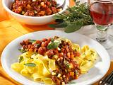 Toskanische Bolognese mit Bandnudeln Rezept