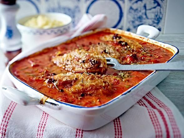 Toskanisches Hähnchen zu Blumenkohl-Kartoffel-Püree Rezept