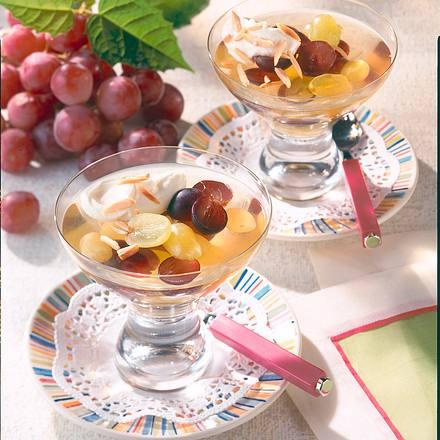 Trauben in Weingelee Rezept
