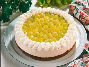 Trauben-Sahne-Torte Rezept