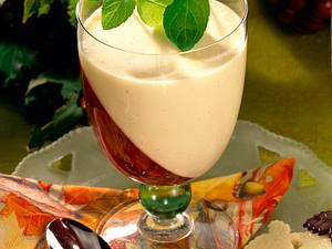 Traubengelee mit Vanilleschaum Rezept