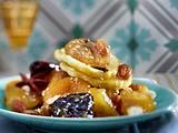 Trockenfrüchtesalat mit Haselnüssen und Gewürzen Rezept