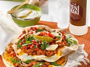 "Türkische Pizza ""Lahmacun"" Rezept"