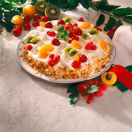 Tutti Frutti Torte Rezept