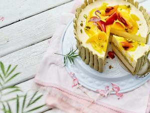 Tuttifrutti-Charlotte mit Mango Rezept