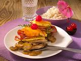 Überbackene Hawaii-Schnitzel-Türme Rezept