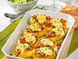 Überbackene Kartoffeln Rezept