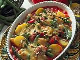 Überbackener Gemüseauflauf Rezept