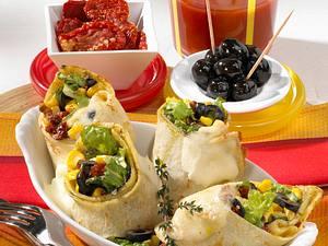 Überbackener Gemüsepfannkuchen Rezept
