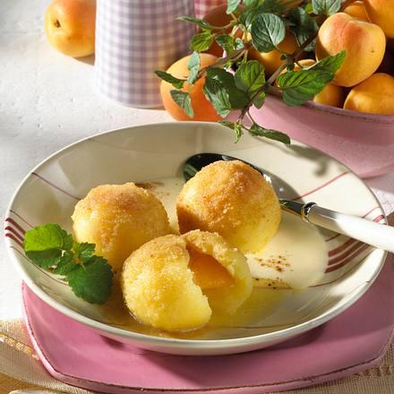 Ungarische Aprikosenknödel Rezept