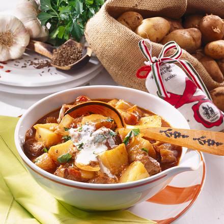 Ungarisches Kartoffel-Gulasch Rezept