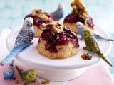 Upside-Down-Kirsch-Vanille-Muffins Rezept