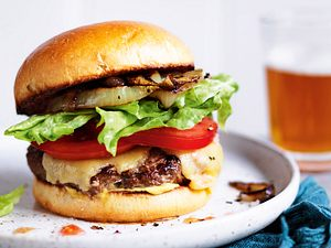 Uptempo-Cheeseburger Rezept