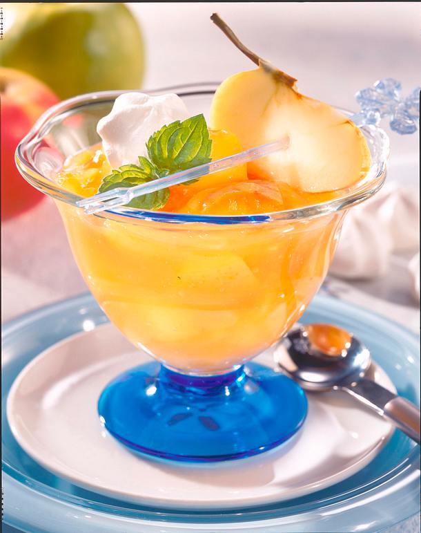 Vanille-Apfel-Grütze Rezept