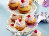 Vanille-Cupcakes mit Himbeermousse Rezept