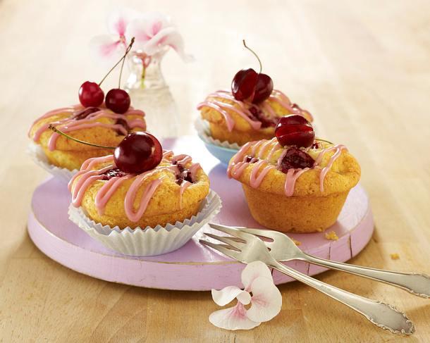Vanille-Kirsch-Muffins Rezept