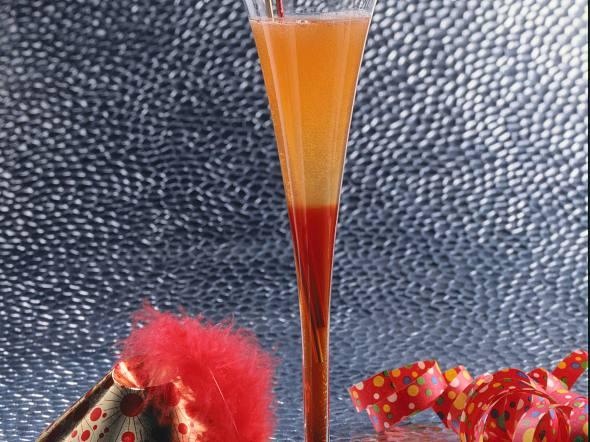 Vanille-Sekt-Cocktail Rezept