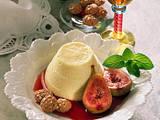 Vanillecreme mit Rotweinfeigen und Amaretti Rezept