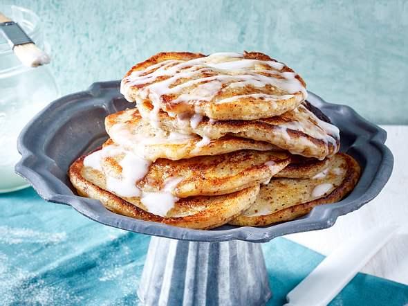 Vegane Zimt-Pfannkuchen Rezept