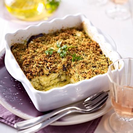 Vegetarische Auberginen-Lasagne Rezept